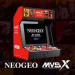 50ものNEOGEOタイトルを収録!「SNK NEOGEO MVSX Home Arcade」が海外で発表!