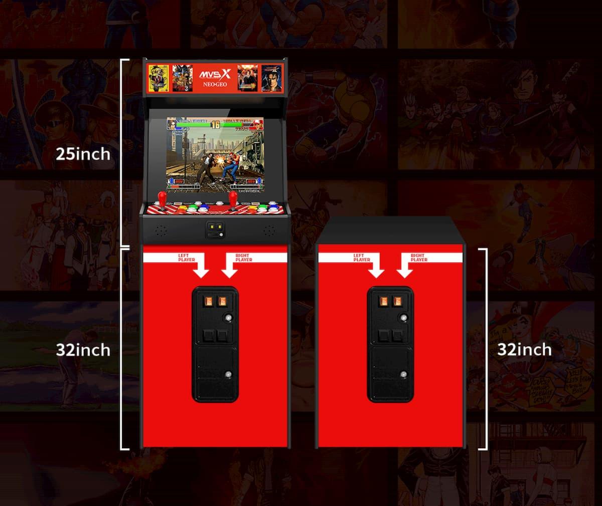 SNK NEOGEO MVSX Home Arcade