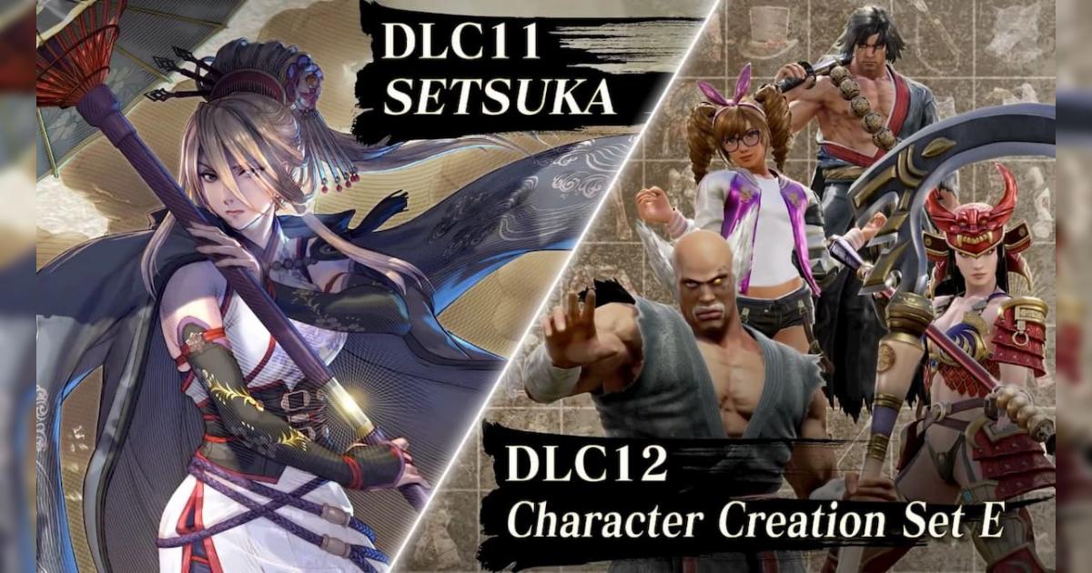 SOULCALIBUR VIの有料DLC11弾「雪華」&有料DLC12弾「クリエイションパーツセットE」配信開始!