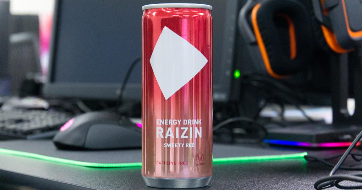 「えっ!!カフェインなしでエナドリを?!」なエナジードリンク「RAIZIN」の新フレーバー「RAIZIN SWEETY RED」を飲んだ!