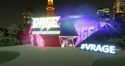 日本初のeスポーツ観戦ができるバーチャルスタジアム「V-RAGE」正式ローンチ!
