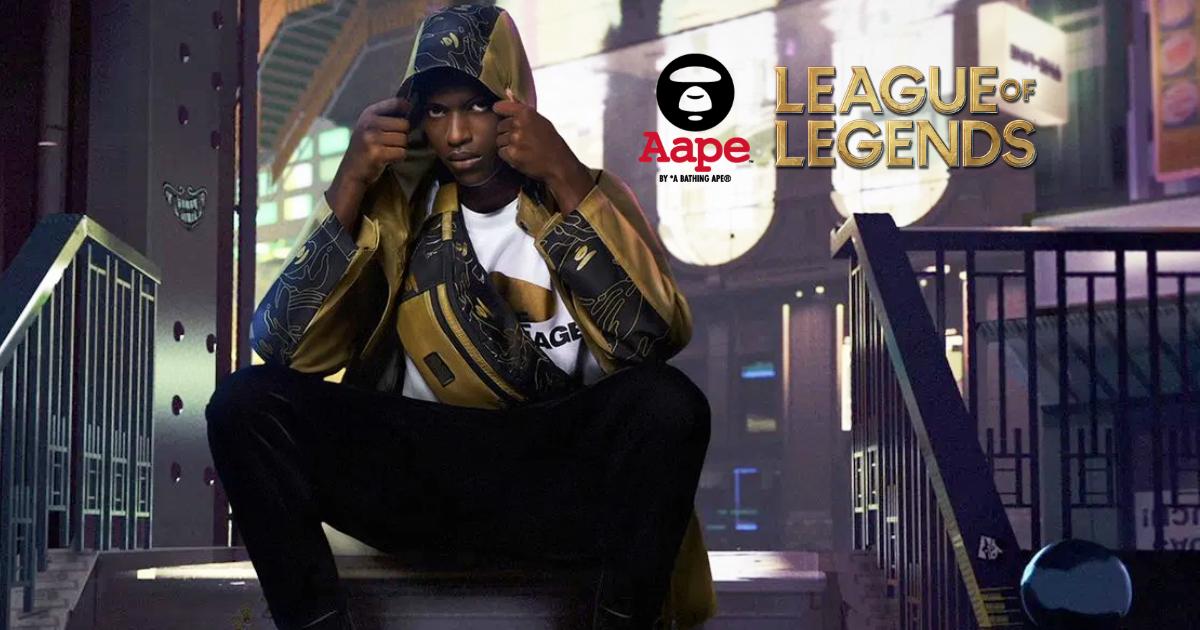「リーグ・オブ・レジェンド」と「AAPE BY *A BATHING APE」の限定コラボアパレルコレクションが9月26日発売!