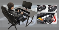 レーシングゲーマー垂涎の「ARCdesk mini」が価格改定!さらにシフトレバーベースも発売決定!