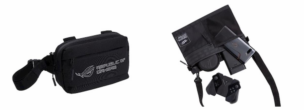ROG Ranger BC1001 Waist Pack(左) / ROG Ranger BC1002 Crossbody Bag(右)