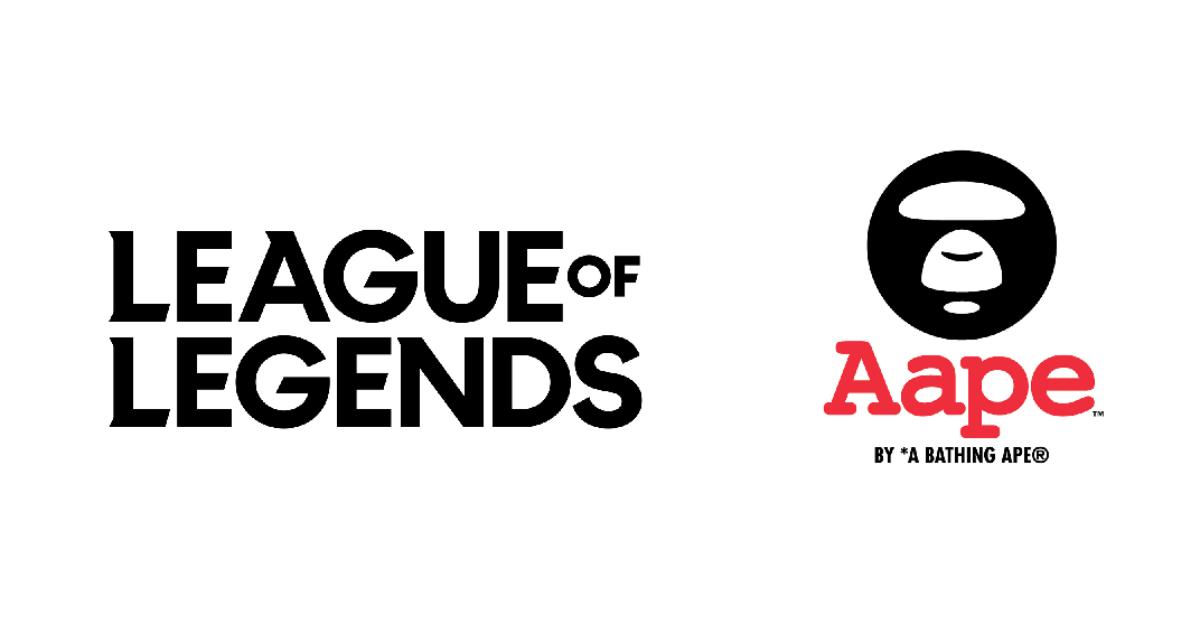 「リーグ・オブ・レジェンド」と「AAPE BY A BATHING APE」がコラボ!アパレルコレクションとゲーム内スキンが登場!