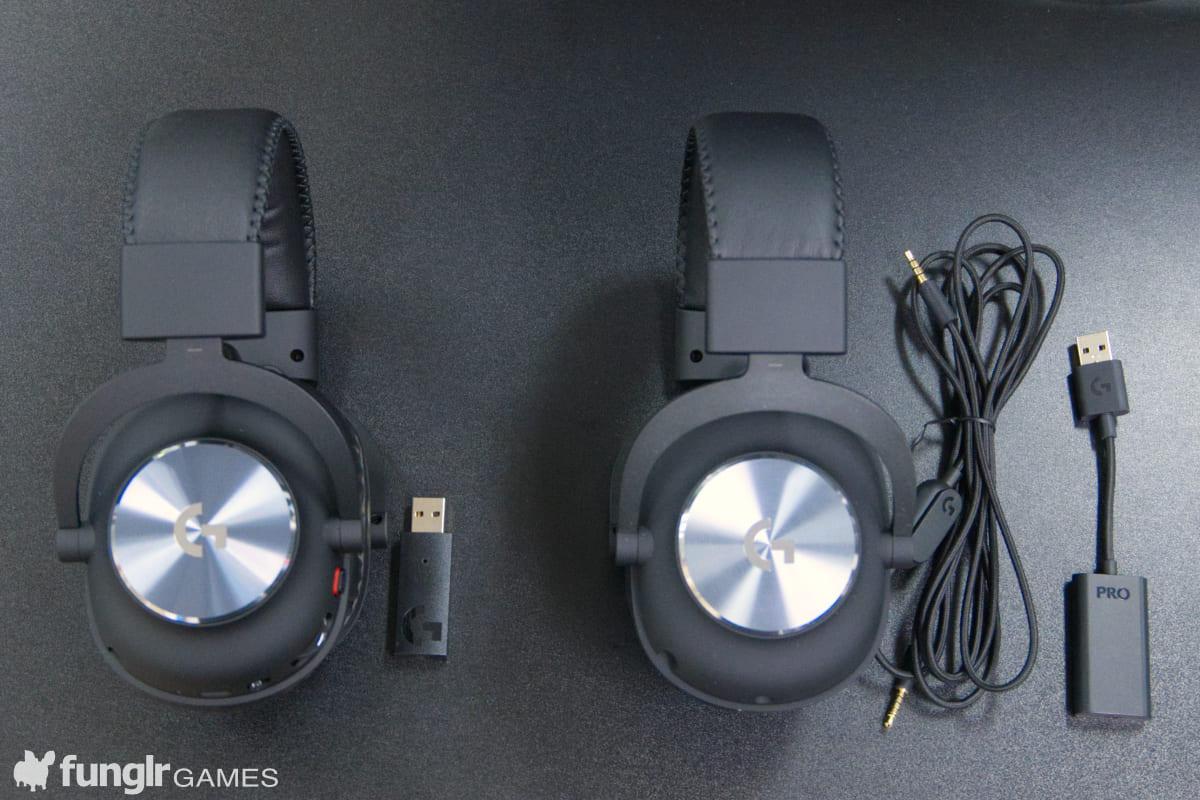 比較「PRO X」和「PRO X Wireless」