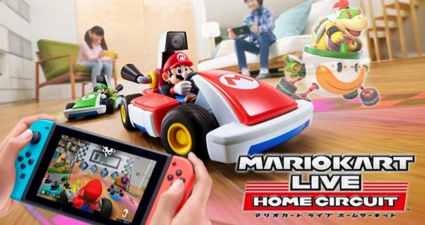 用Nintendo Switch操作真實世界的瑪利歐賽車!《瑪利歐賽車實況:家庭賽車場》開跑!