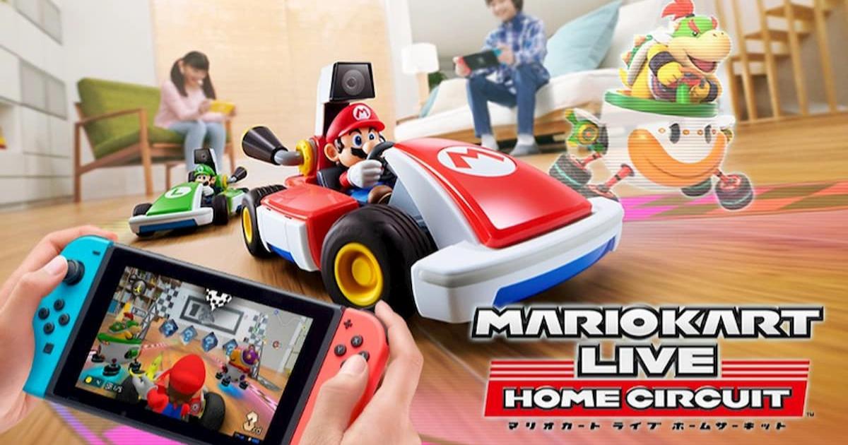 Nintendo Switchを使ってリアルマリオカートを操作!「マリオカート ライブ ホームサーキット」発表!