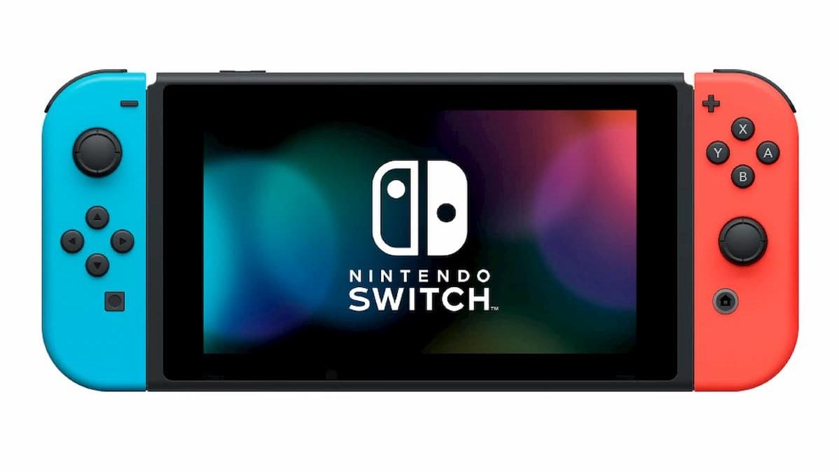 Nintendo Switch(Joy-Con(L)ネオンブルー/(R)ネオンレッド+ストラップ ブラック2本)