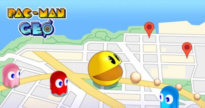 家にいながら世界に飛び出そう!「PAC-MAN GEO」事前登録受付開始!