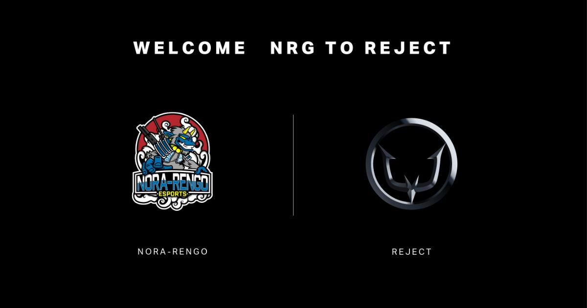 プロeスポーツチーム「REJECT」が「野良連合」のRainbow Six Siege部門を買収!