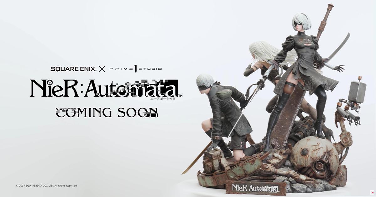 第1弾はニーア!ポリストーンフィギュアシリーズ「SQUARE ENIX MASTERLINE NieR:Automata」プレビュー動画公開!