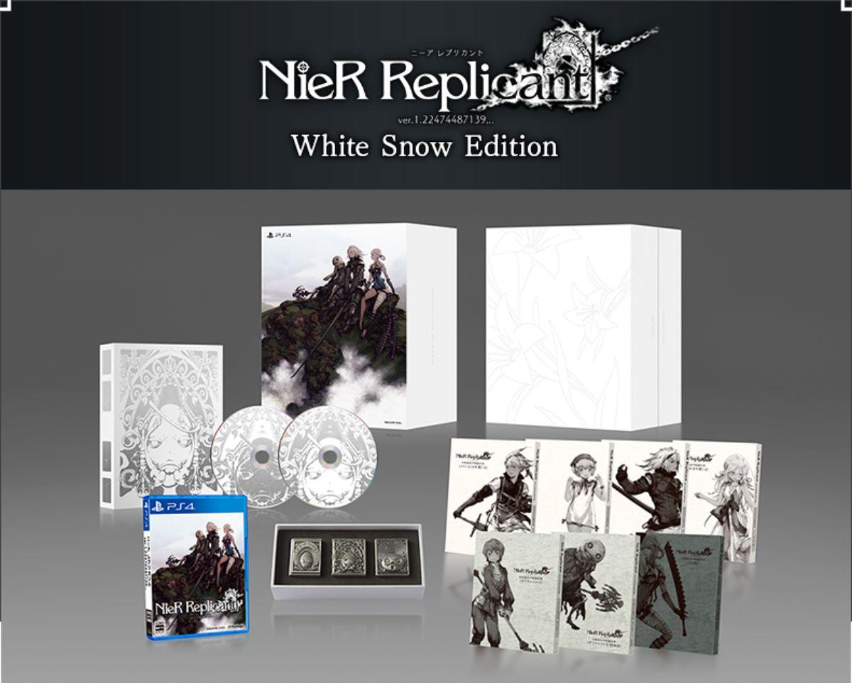 【限定版】ニーア レプリカント ver.1.22474487139... White Snow Edition