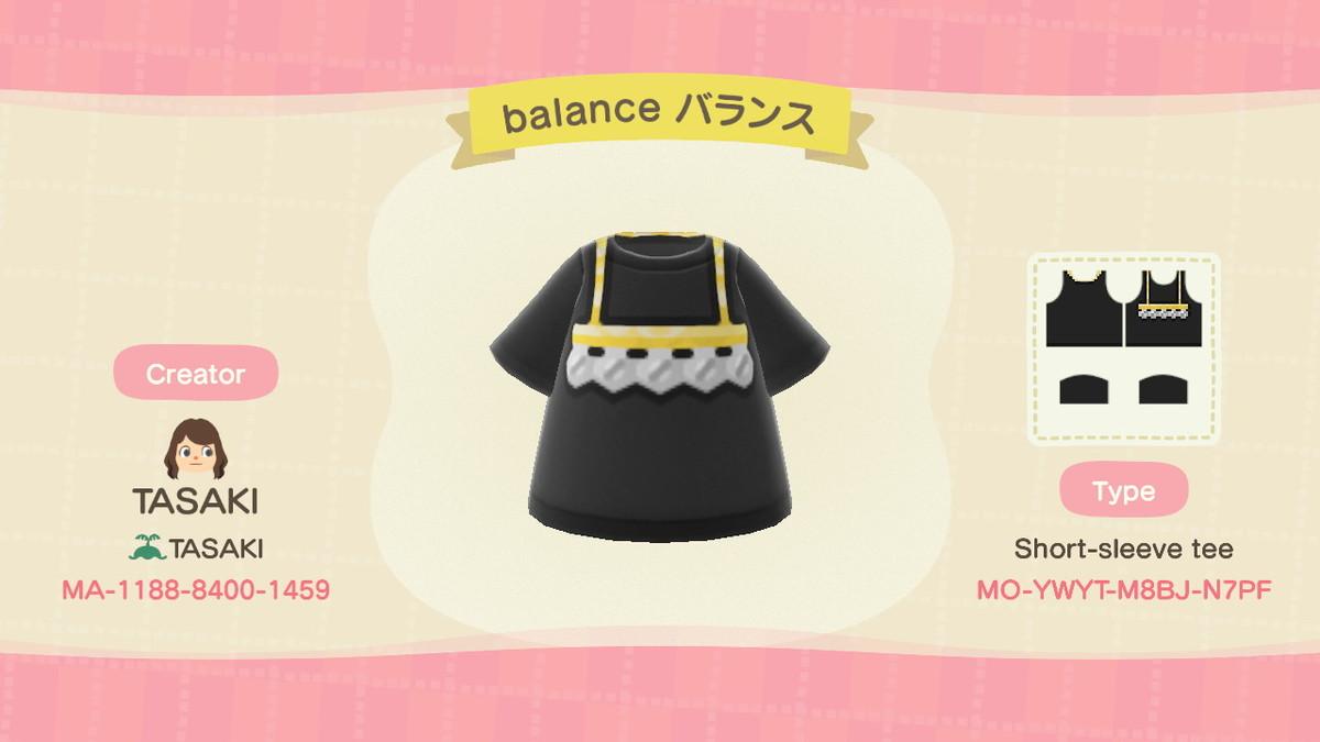 balance 短袖T裇2