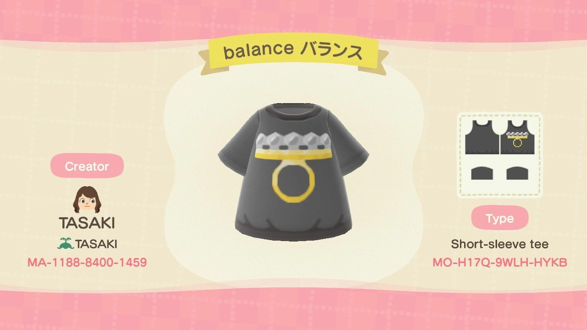 balance 短袖T裇1