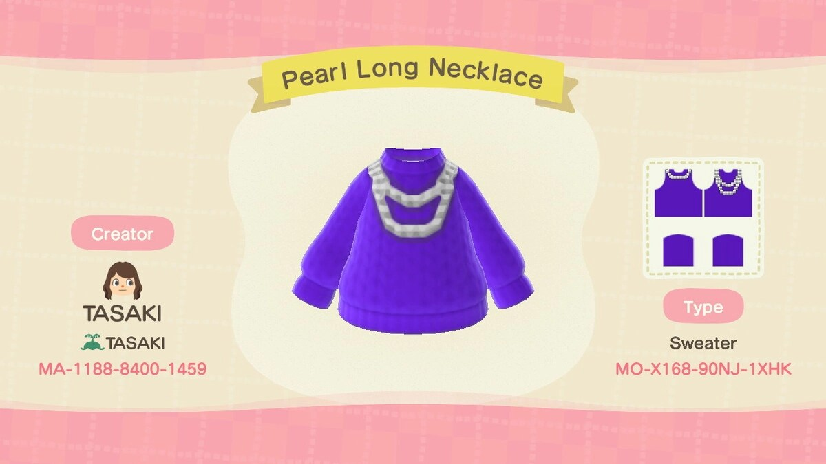 Pearl Long Necklace 毛衣