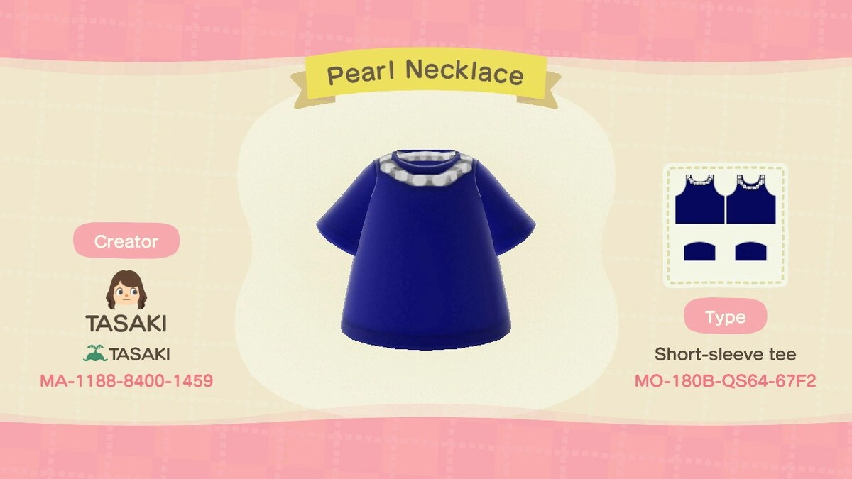 Pearl Necklace 短袖T裇
