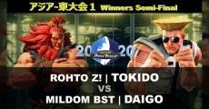 「Capcom Pro Tour Online 2020」的「亞洲-東大會1」11部比賽影片在官方YouTube頻道公開!