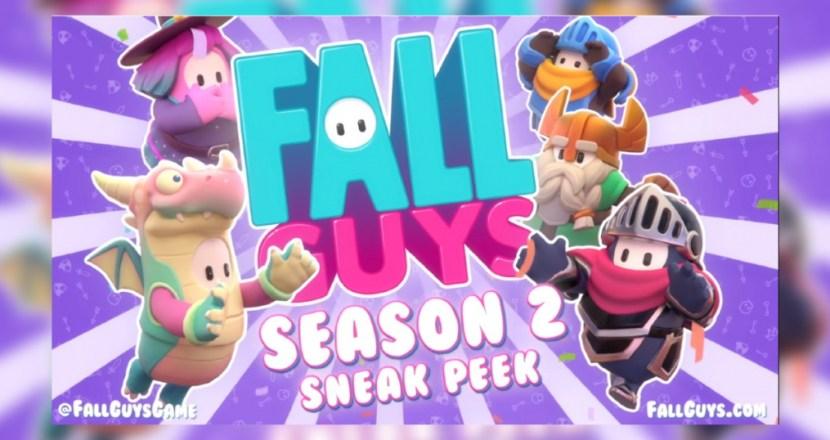 10月8日からFall Guys待望のSeason 2開催!今度のテーマはファンタジー!