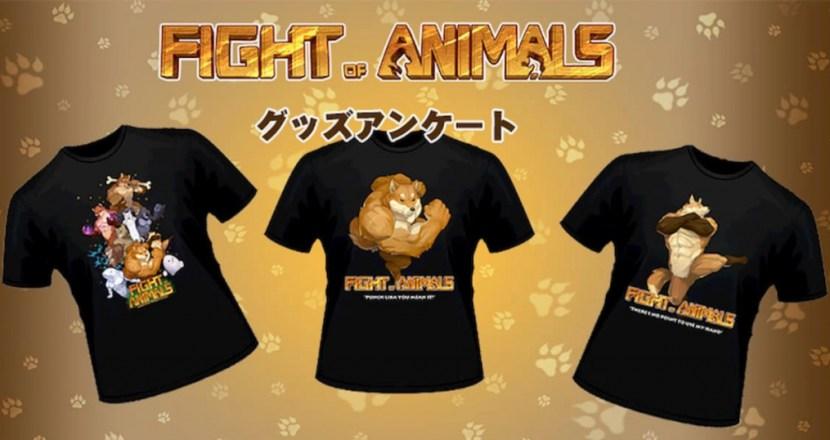 Fight of Animals公式がグッズアンケート実施中!アナタの意見が反映されるかも!