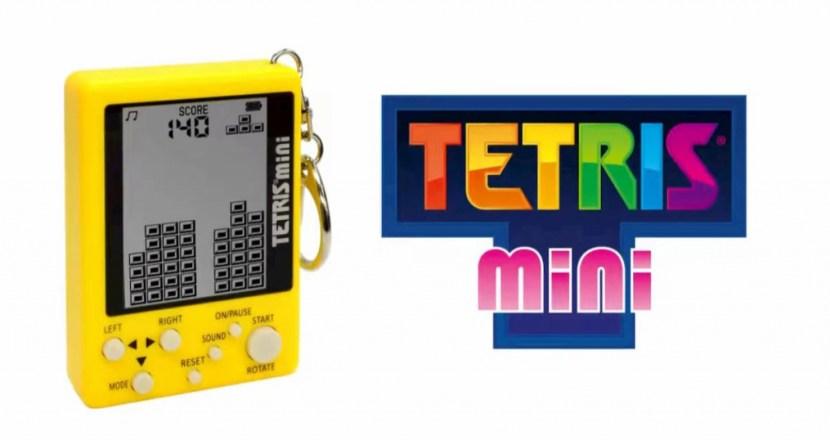 キーホルダー型携帯ゲーム機が公式ライセンスを取得し復活!「テトリス ミニ」発売決定!