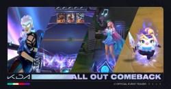 LoLから誕生したバーチャルポップグループ「K/DA」が新たに「K/DA ALL OUT」としてライアットゲームズの4タイトルに登場!