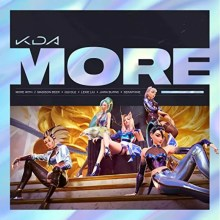 MORE - K/DA, Madison Beer and (G)I-DLE featuring Lexie Liu, Jaira Burns, Seraphine and League of Legends