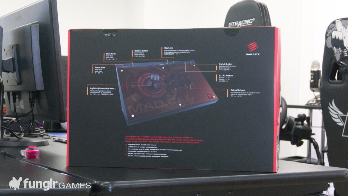 EGO Arcade Stick 外箱