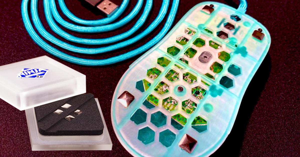 ゲーミング鉄板でおなじみのNINJA RATMATがメタルマウスソール「菱 -BISHI-」を正式発表!