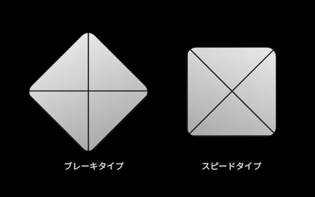 メタルマウスソール「菱 -BISHI-」