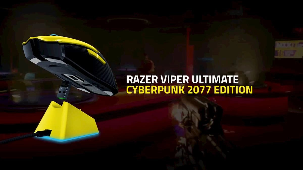 Razer Viper Ultimate with Charging Dock - Cyberpunk 2077 Edition
