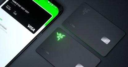 史上首張Logo會發光的Prepaid card - RazerCard