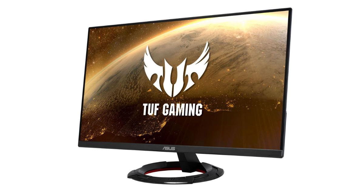 165Hz&1msでヌルヌル動く!ASUSゲーミングモニター「TUF Gaming VG249Q1R」が発売!