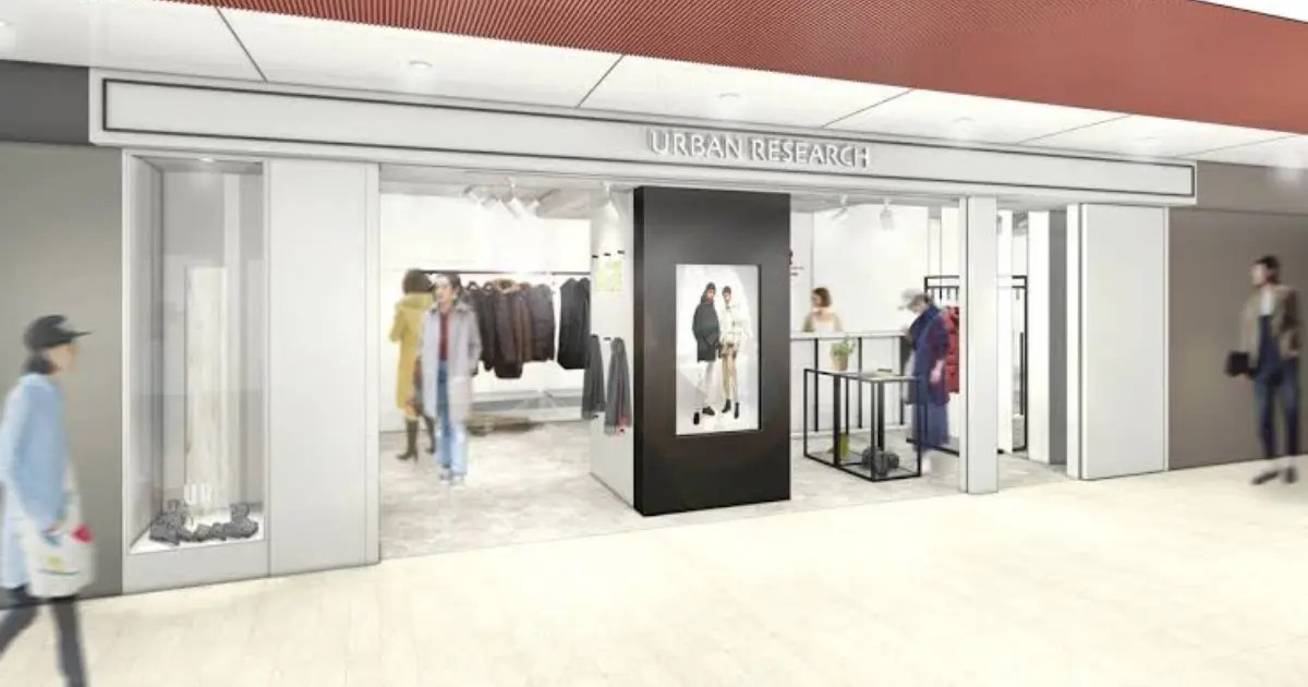 URBAN RESEARCH POP UP STORE エチカ表参道店