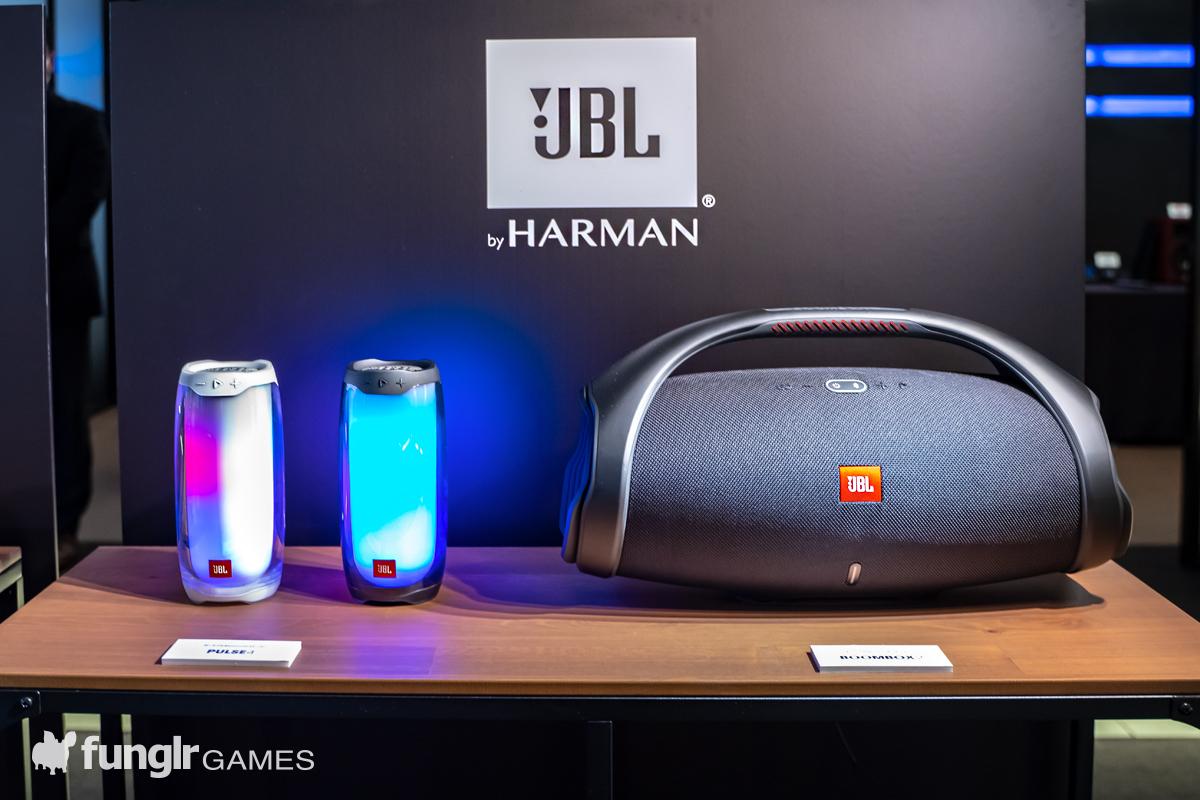 JBL Pulse 4 & JBL Boombox 2