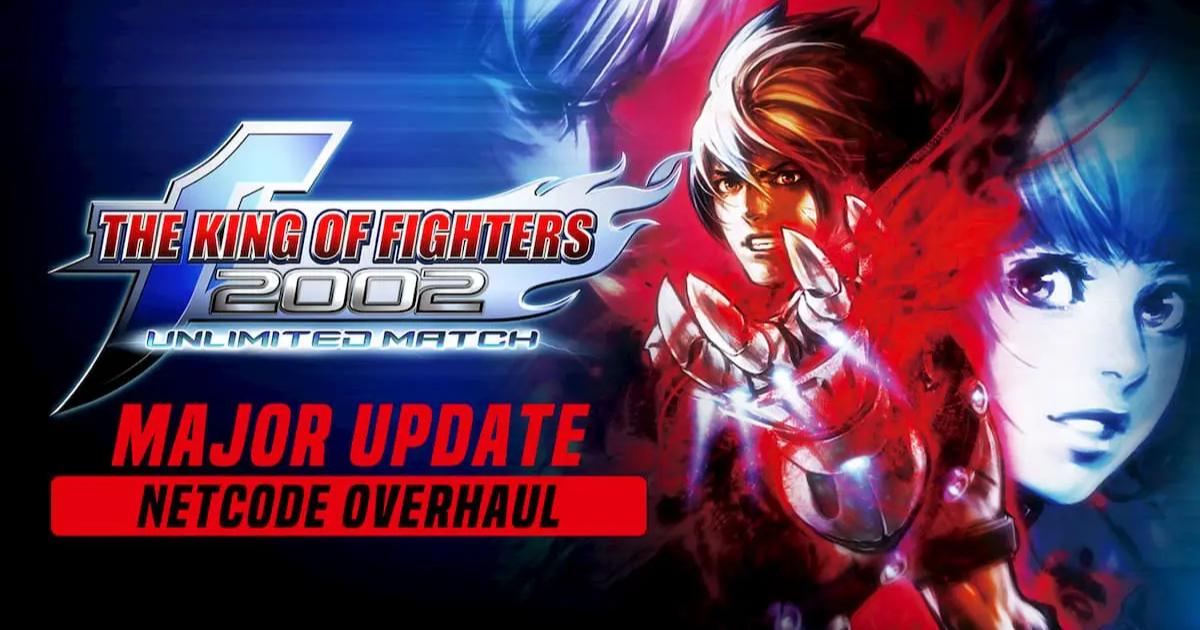 Steam版「KOF 2002 UM」が大型アップデート!ロールバック方式実装でオンライン対戦が快適に!