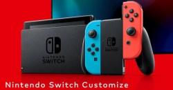 マイニンテンドーストアでNintendo Switch Customize抽選販売申し込み受付開始!