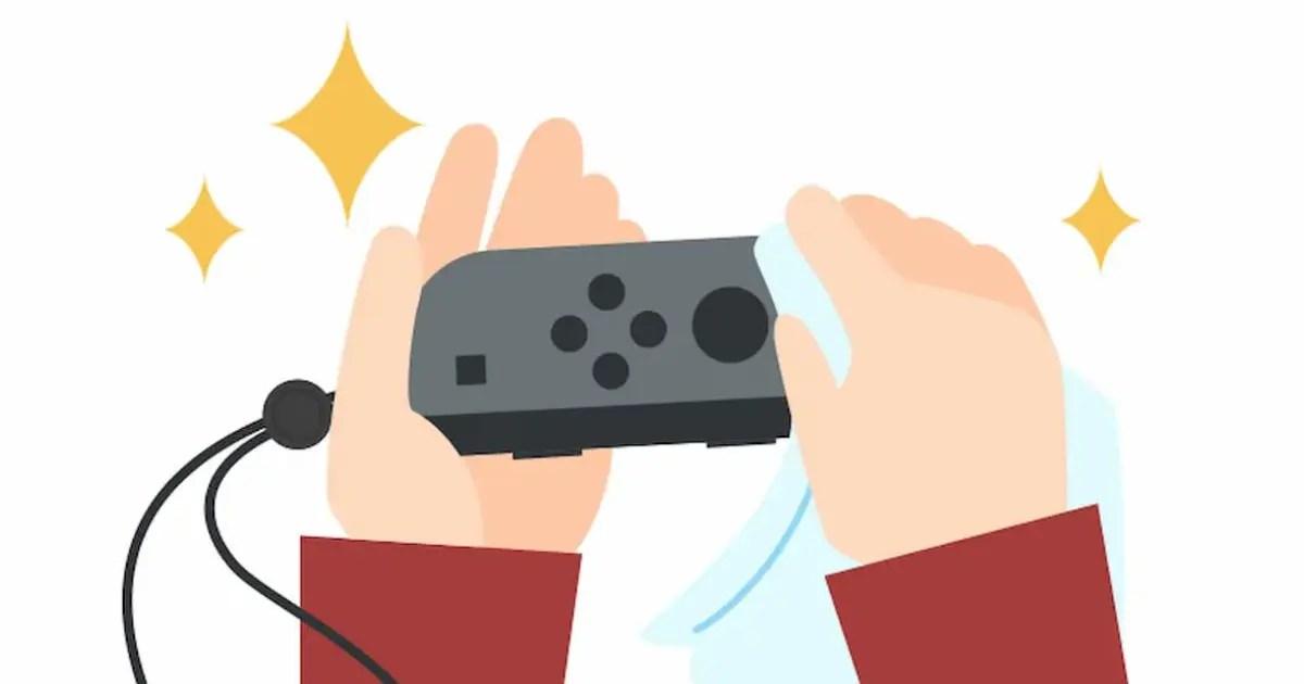 任天堂官方發表Nintendo Switch的維護方法。教大家如何正確清潔。