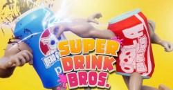 世界一の飲み物を決める!拳で!シュールな格ゲー「SUPER DRINK BROS.」のアルファ版配信開始!