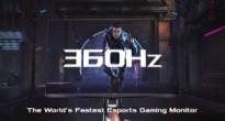 ASUSがリフレッシュレート世界最速360Hzのゲーミングモニター「ROG Swift 360Hz PG259QN」を発売
