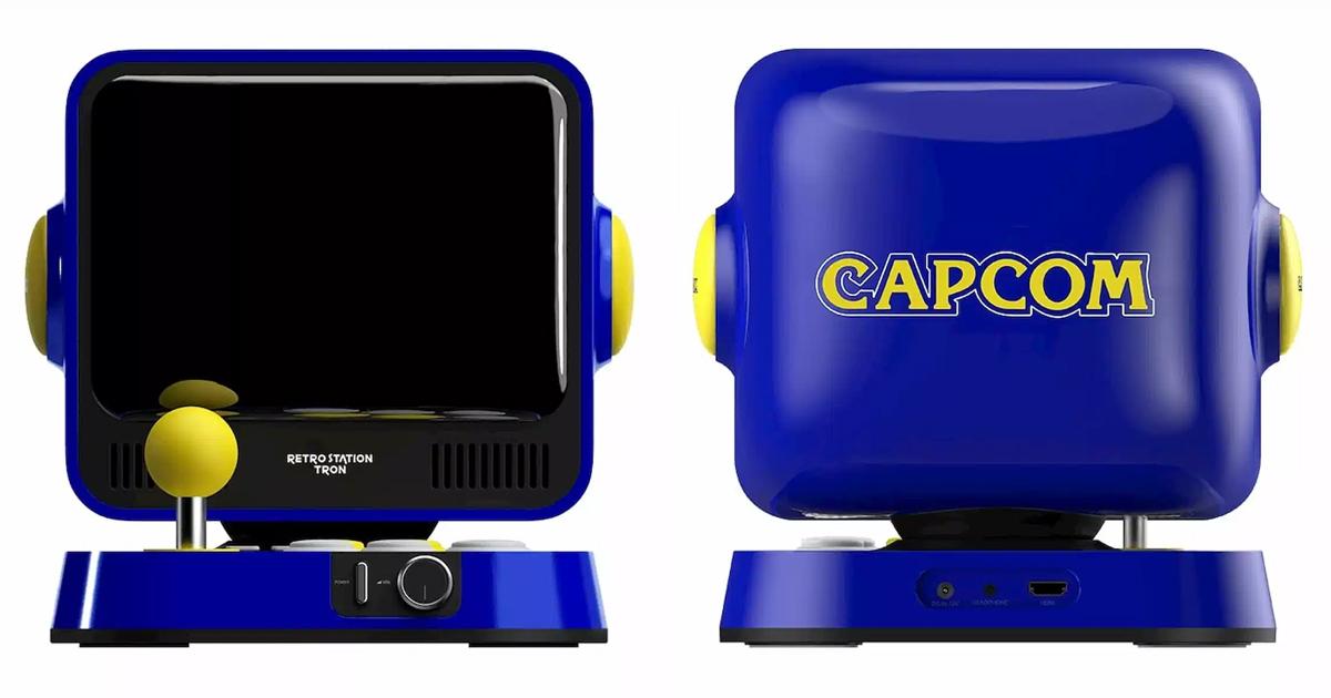ロックマンシリーズ&ストIIシリーズ収録!カプコンの新ゲーム機「RETRO STATION」正式発表&予約開始!