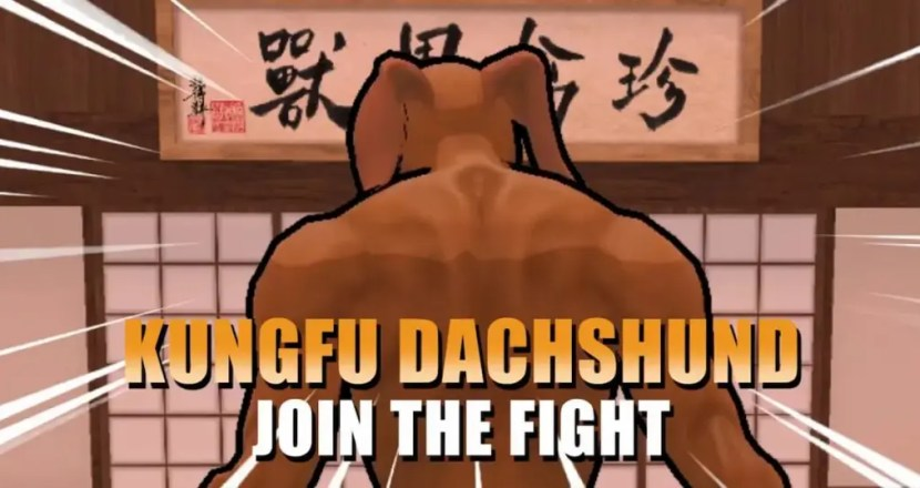 背肌臘腸狗將參戰動物之鬪最新作《Fight of Animals: Arena》!