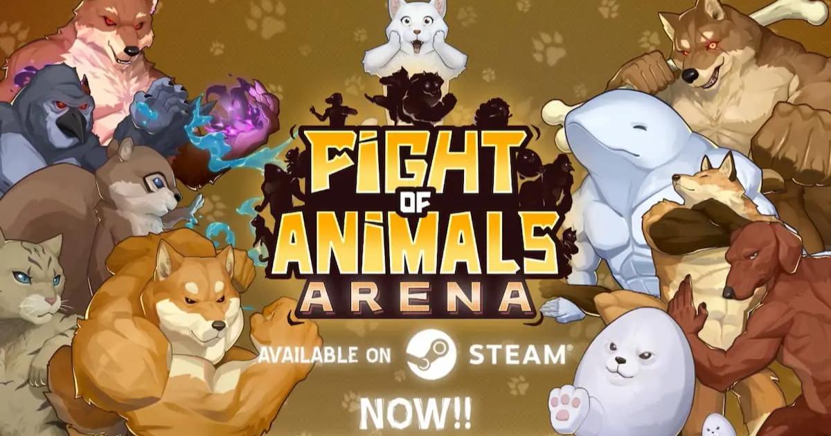 今度は大乱闘!あの動物たちが暴れまわる「Fight of Animals: Arena」が遂に発売!