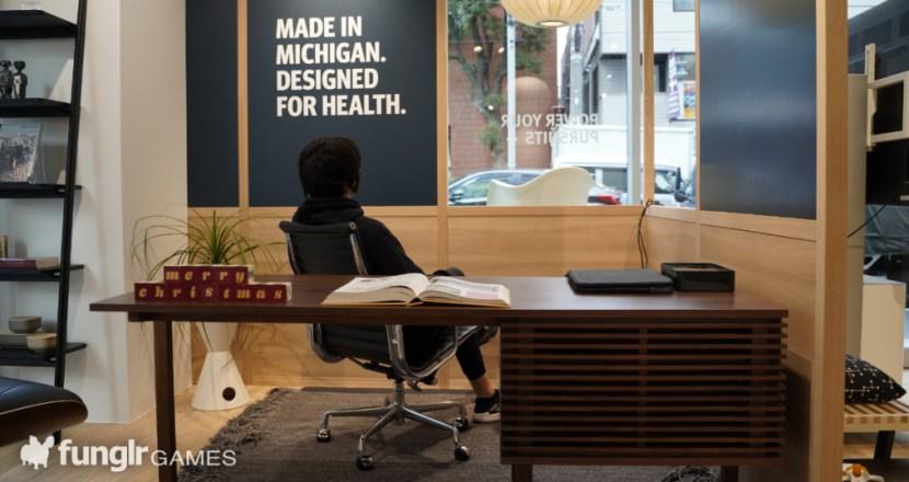 造訪全新開幕的「Herman Miller 青山店」,並實際體驗帶來話題的電競椅!