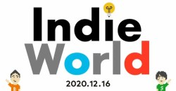 「Indie World 2020.12.16」が公開!発表内容をご紹介!