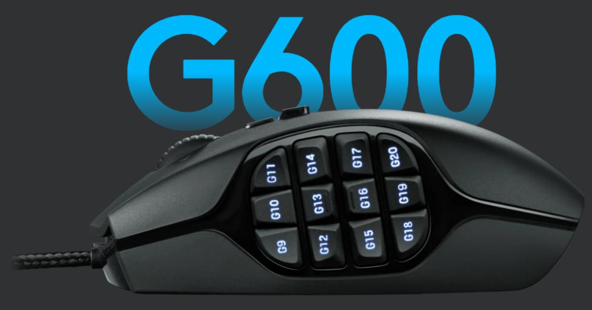 有線マウス「G600」