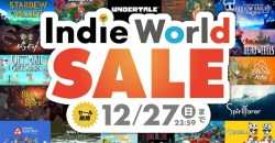 年末年始はインディーゲーム三昧!マイニンテンドーストアで「Indie World セール」が開催中!