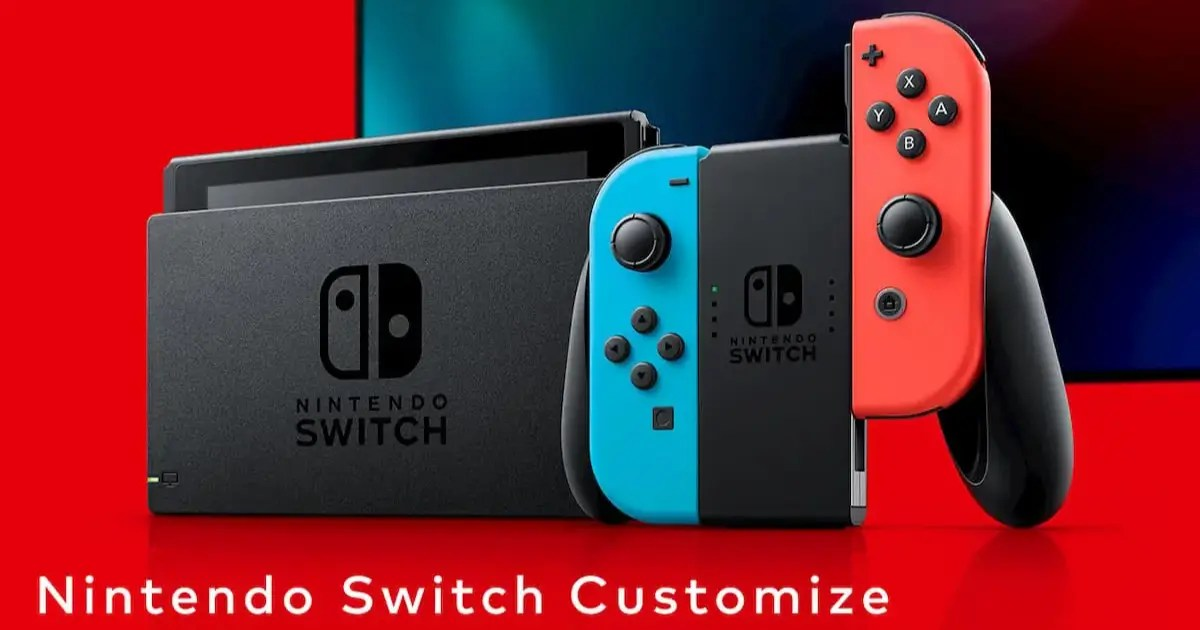 マイニンテンドーストアでNintendo Switch Customizeの在庫が復活!クリスマスに特別な1台を!