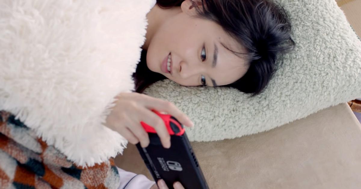 腦裡全都是結衣BB…Nintendo Switch的2020冬季版電視廣告公開