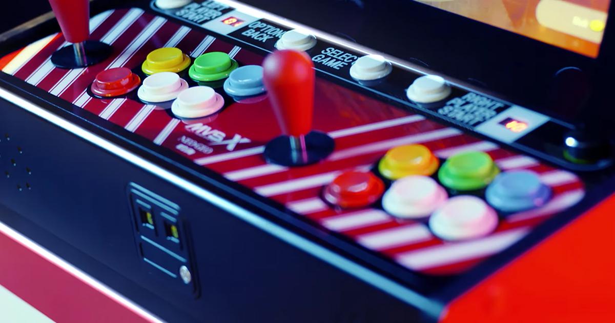 50タイトル収録の大型筐体「SNK NEOGEO MVSX」が日本発売決定!予約受付開始!